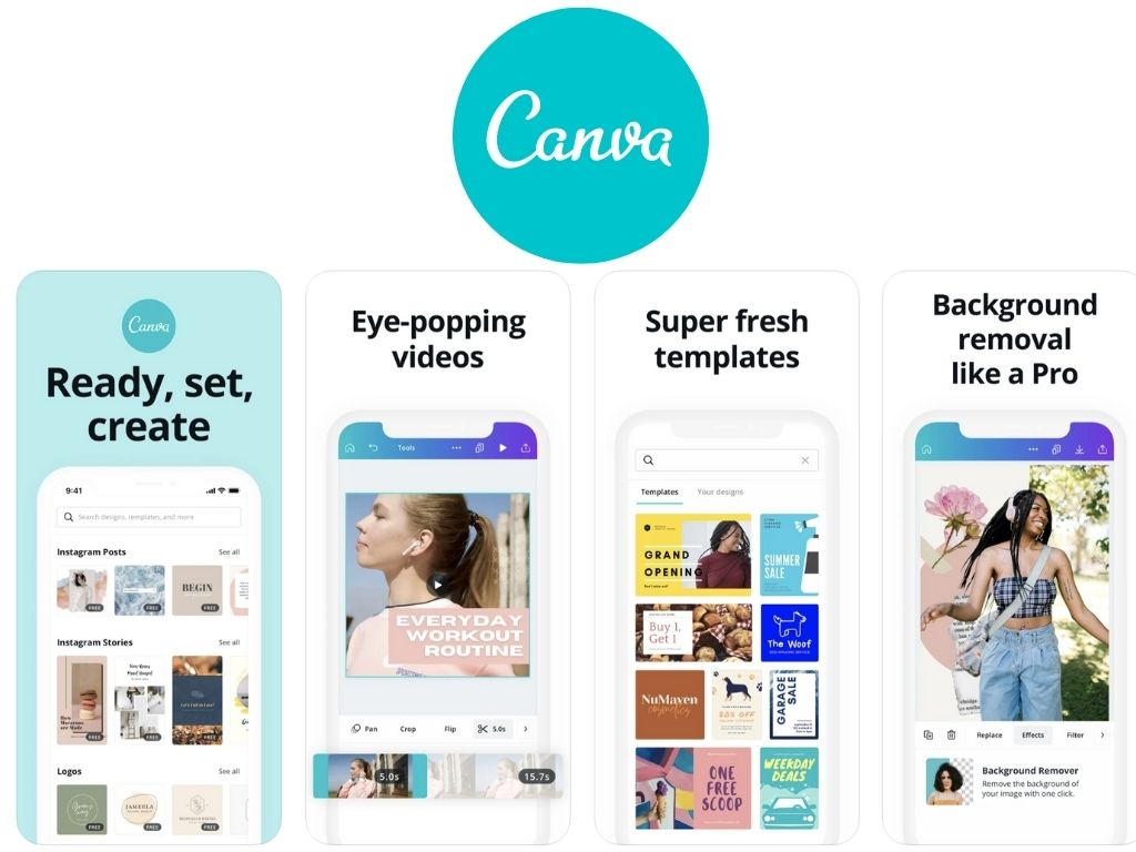 Video editing app number 8: Canva