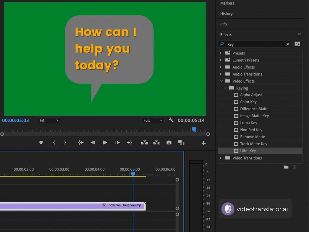 Change Your Video Background With Adobe Premiere Pro